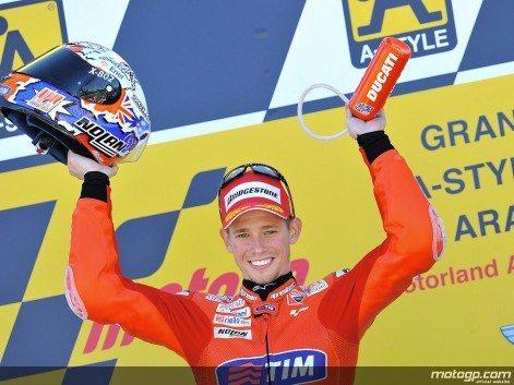 Stoner arrecada primeira vitória de 2010 em Aragón