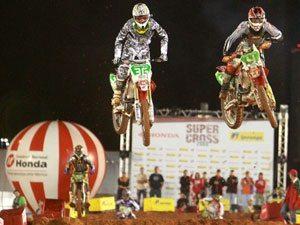 Foto: Jorge Balbi busca repetir a vitória no Desafio Internacional Edgel de Supercross
