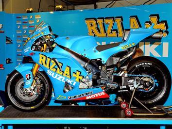 Suzuki anuncia continuação da parceria com a Rizla MotoGP