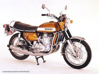 Suzuki GT 750 - Uma grande motocicleta