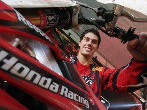 Foto: Swian Zanoni, piloto da Equipe Oficial Honda das categorias MX1 e MX2 na Superliga Brasil de Motocross.