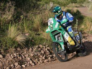 Foto: Jean Azevedo, piloto da moto da Equipe Petrobras Lubrax