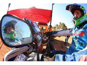 Foto: Tiago Fantozzi treminou a etapa entre Palmas e São Felix em nono lugar entre as motos