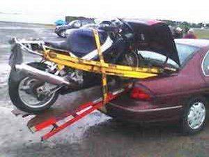 Foto: Como transportar sua moto - Bitenca