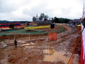 Treinos suspensos em Canelinha