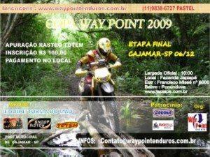 Última etapa da Copa Waypoint  – 06 de dezembro em Cajamar(SP)