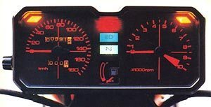 CBR 450: painel