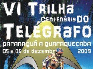 VI Trilha Centenária do Telégrafo – 5 e 6 de dezembro – Paranaguá a Guaraqueçaba(PR)