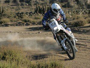 Foto: Vicente Benedicts representa o Brasil no Rally Dakar 2011