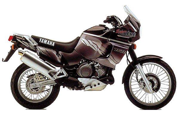 XTZão     Como é uma das mais admiradas motos de uso misto, a Yamaha XTZ 750