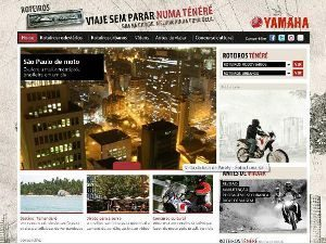 Yamaha cria Hotsite de turismo e aventura da nova XTZ 250 Ténéré