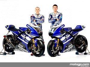 Yamaha Factory Racing apresenta cores de 2011