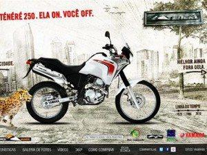 Yamaha XTZ 250 Ténéré invade web e redes sociais