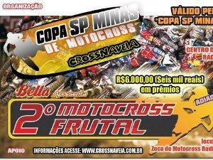 1ª etapa,  2 e 3 de Abril - 2 Motocross de Frutal(MG)