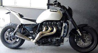 Rocket Triumph criado pela AZ Motorcycle