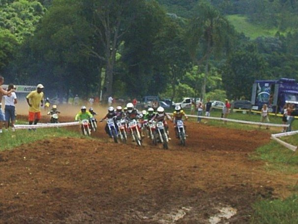 Foto: Largada da categoria 85cc