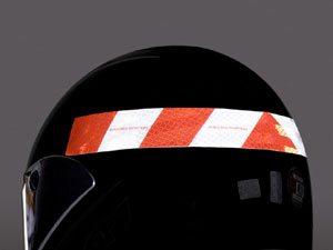 3M dispõe de novas faixas refletivas para a segurança de motoqueiros
