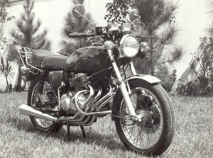 Foto: Cb 400Four do Tite
