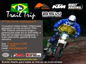97 Trilha Trail Trip – Araçariguama - SP – 30 de agosto