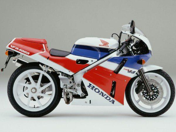 Honda VFR 400 R - Uma moto que não veio