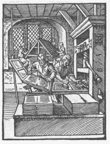 """Para imprimir um jornal era precisa montar palavra por palavra - era a """"Tipografia"""""""