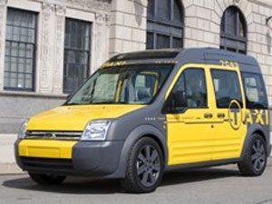 A Ford apresenta novo conceito para táxi de Nova York