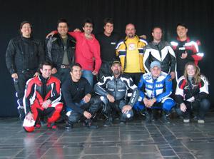 Foto: A primeira turma do curso SpeedMaster MotorsCo