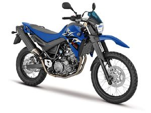 A Yamaha XT 660R 2008 de visual novo
