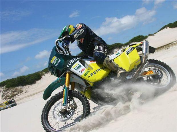 Foto: Jean Azevedo durante o Dakar Day de Cabo Frio