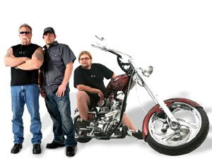 Foto: Integrantes do American Chopper é atração no SPMF
