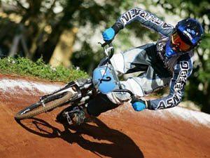 Foto: Ana Flávia Sgobin - piloto de BMX patrocinada pela ASW