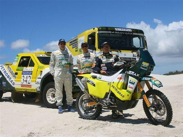 Foto: Nos treinos em Cabo Frio