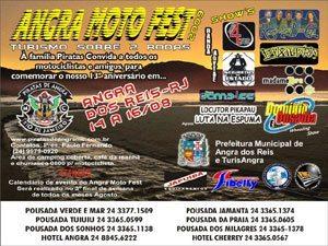 Angra Moto Fest garante conforto aos motociclistas