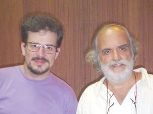 Foto: Mestre Fabio e Prof. Dr. Boccara
