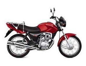 Foto: A versÆo 2006 da Honda CG 150 JOB