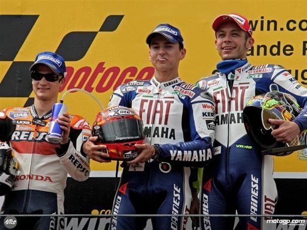 As emoções da corrida de MotoGP pela voz dos três primeiros