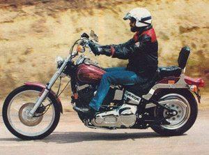 Foto: Cadˆ o amortecedor da Harley?