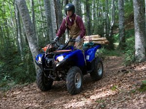ATV Yamaha YFM 700 Grizzly