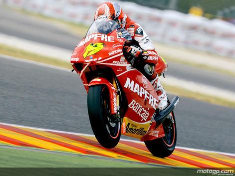 Bautista assume controlo da qualificação de 250cc