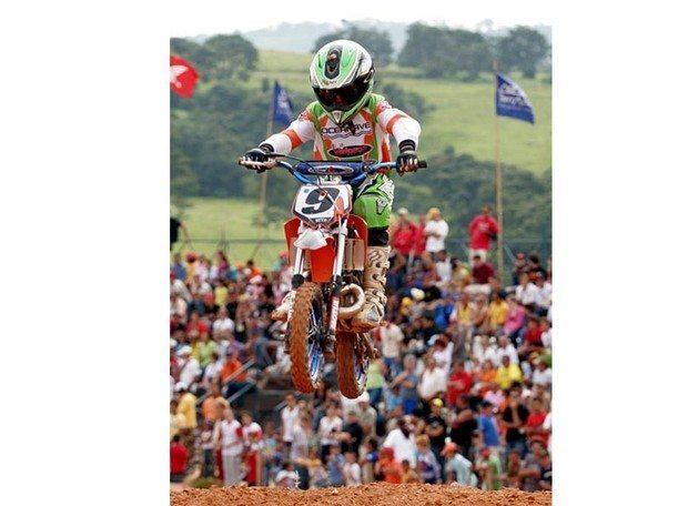 Beto Lawant é 12º colocado na abertura do Paulista de Motocross