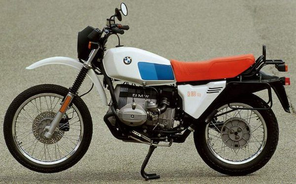 BMW R80 GS de 1980 Foi um sucesso de vendas - foto Divulgação