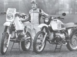 Rahier com a BMW R80 GS de 1984: original e preparada