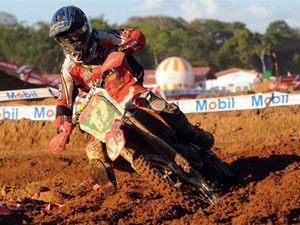 Foto: Thales Vilardi, piloto do motocross do Team Honda