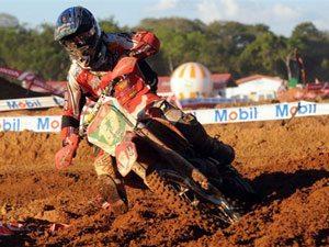 Foto: Thales Vilardi, piloto do motocross do Team Honda