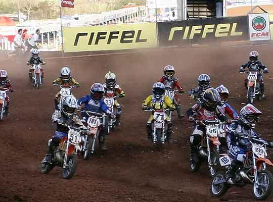 Foto: 3¦ e 4¦ etapas do Brasileiro de Minicross foram disputadas em Chapec¢, SC