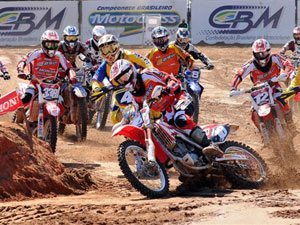Foto: Jean Ramos, piloto da MX2 do Team Honda