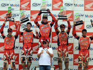 Foto: Gustavo Takahashi, piloto da MXJr do Team Honda