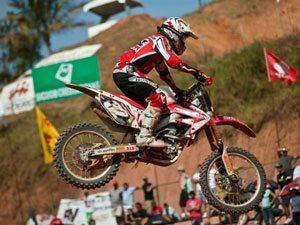 Foto: Rodrigo Rodrigues representa o Team Honda na categoria MXJr
