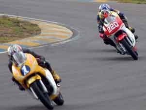 Foto: Peasson (1) e Ana Lima (220) sÆo destaques da 250cc