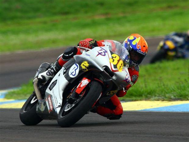 Foto: Philippe Thiriet ' um dos destaques da Supersport